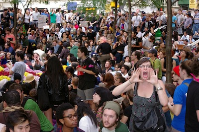 Day 14 Occupy Wall Street September 30 2011 Shankbone 2.JPG