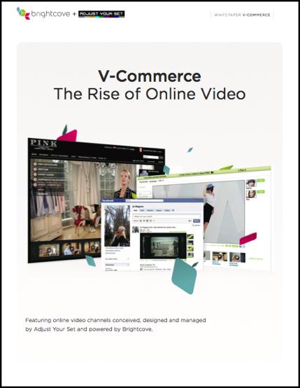 White Paper: V-Commerce: The Rise of Online Video