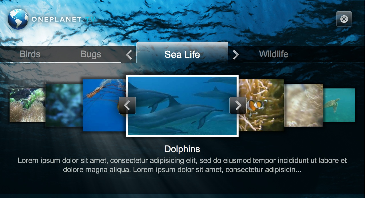 LG전자스마트TV 앱 화면