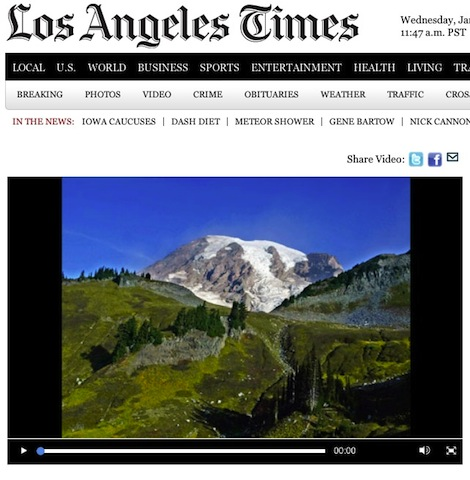 Brightcove helped the Los Angeles times hit a record high with online video streaming