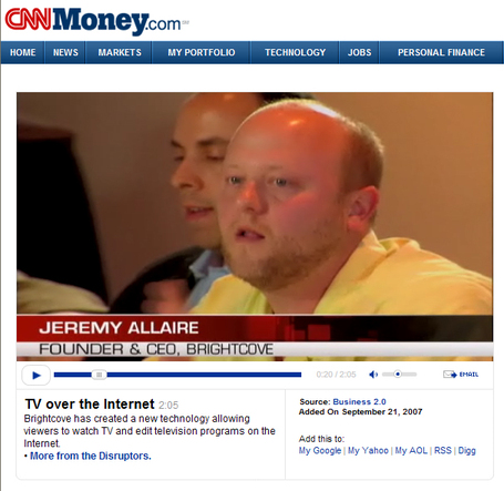 CNN Money Jeremy Allaire