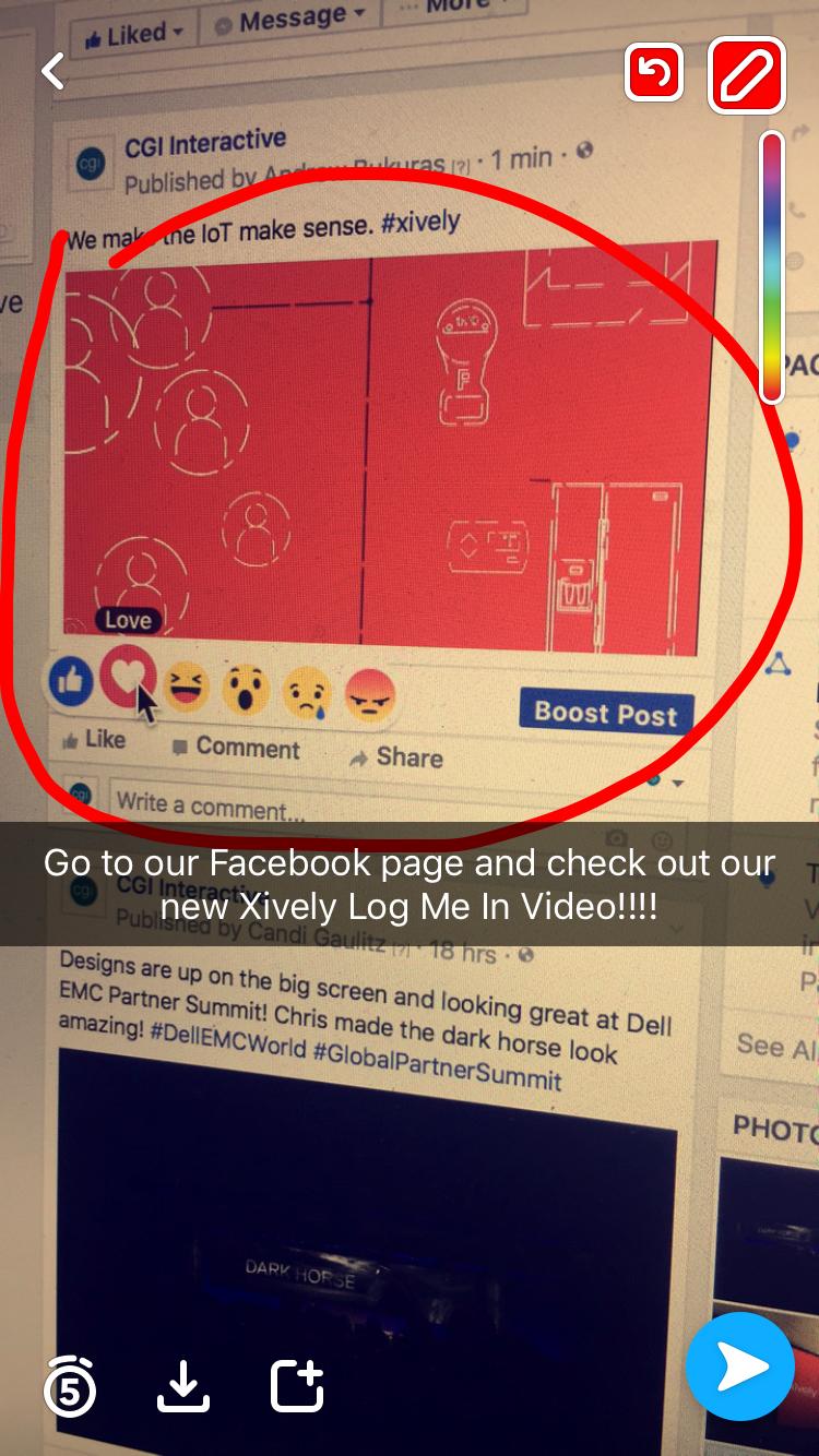 SnapChat Social Video Promotion