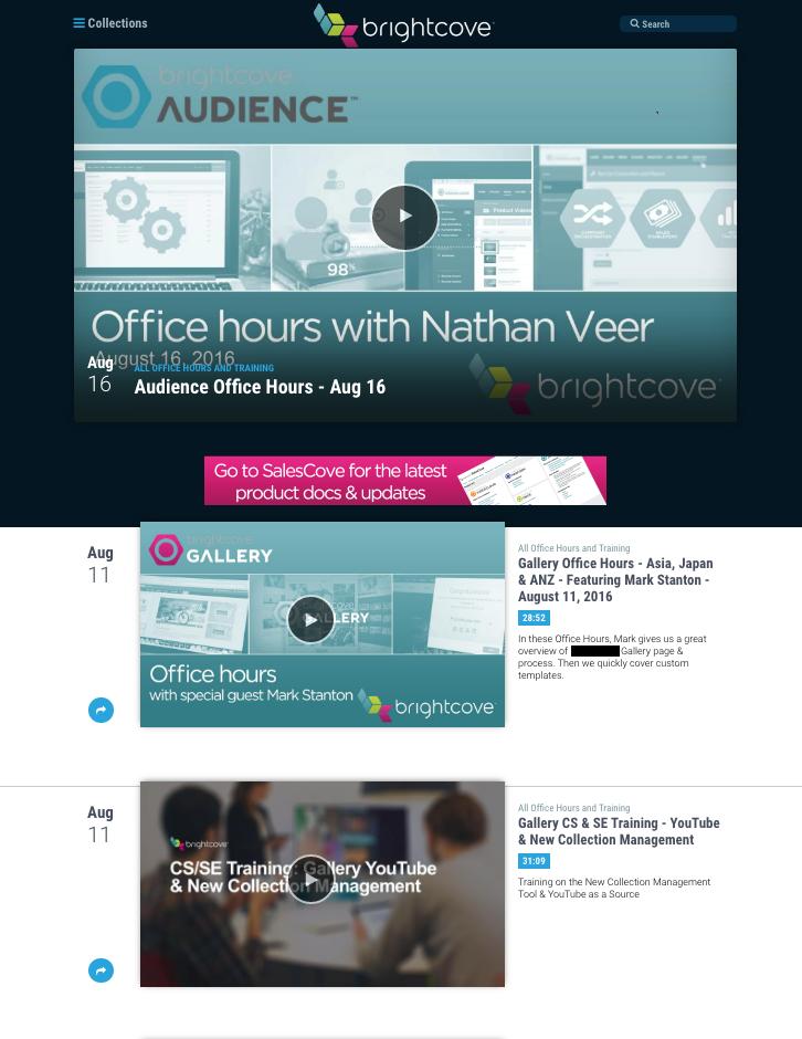 Video Portal for Internal Communications