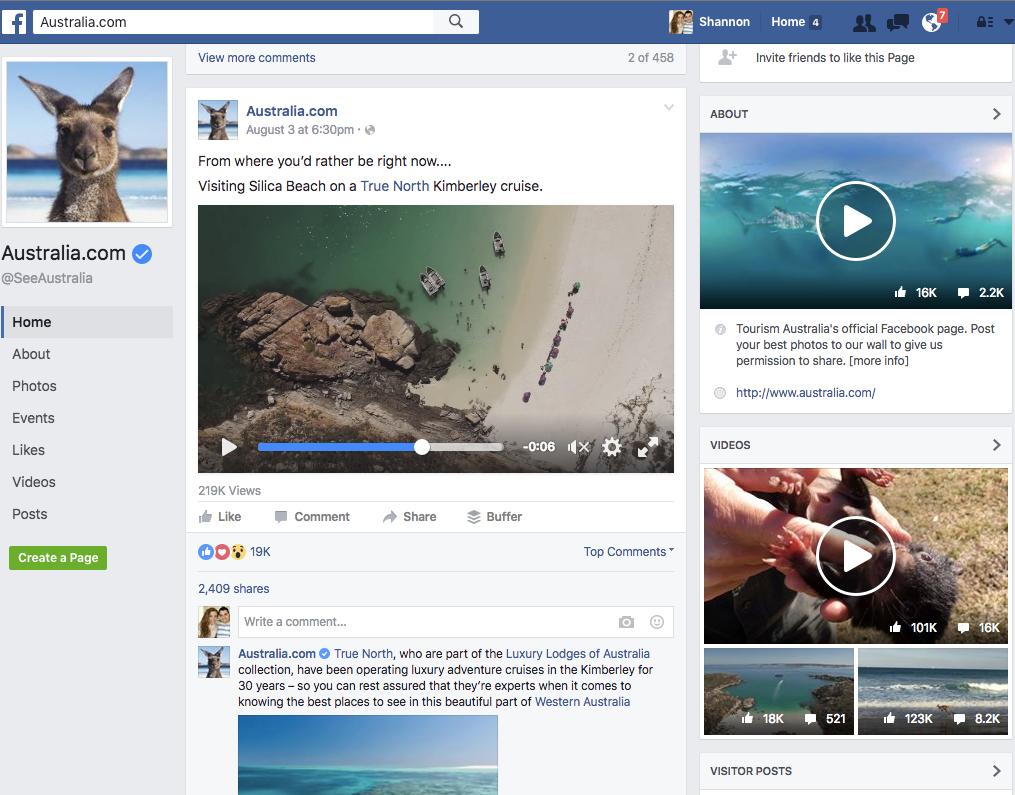 Facebook Welcome Video