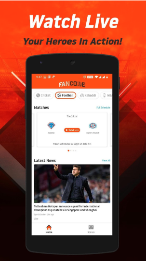 The next big thing in video streaming: FanCode by Dream11