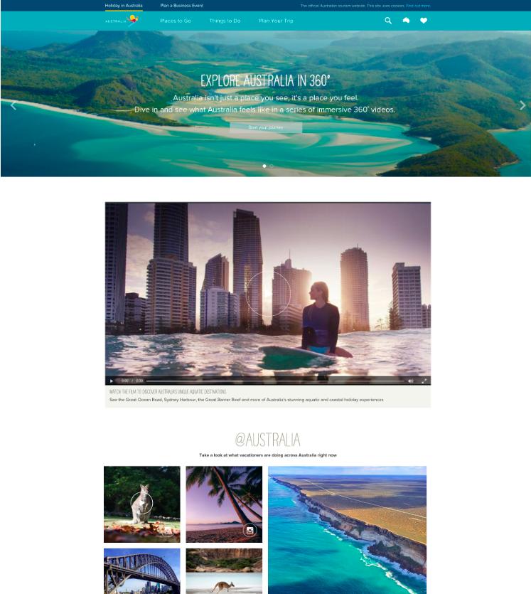 Australia Tourism Home Page