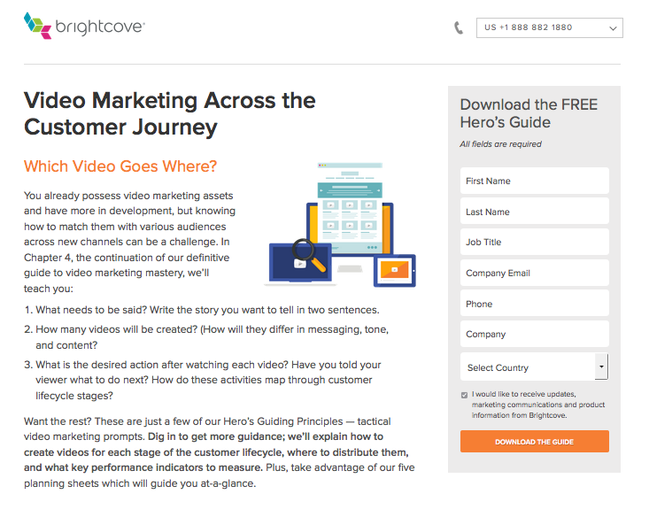 Landing Page without Video