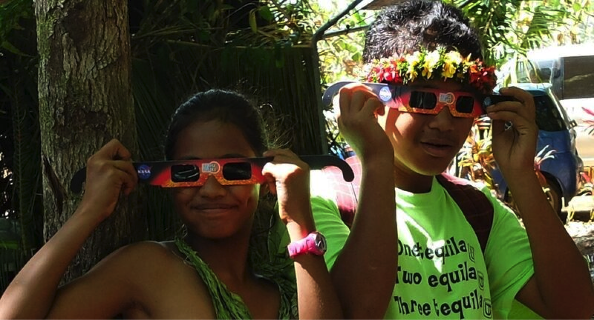 Exploratorium Solar Eclipse Micronesia Education