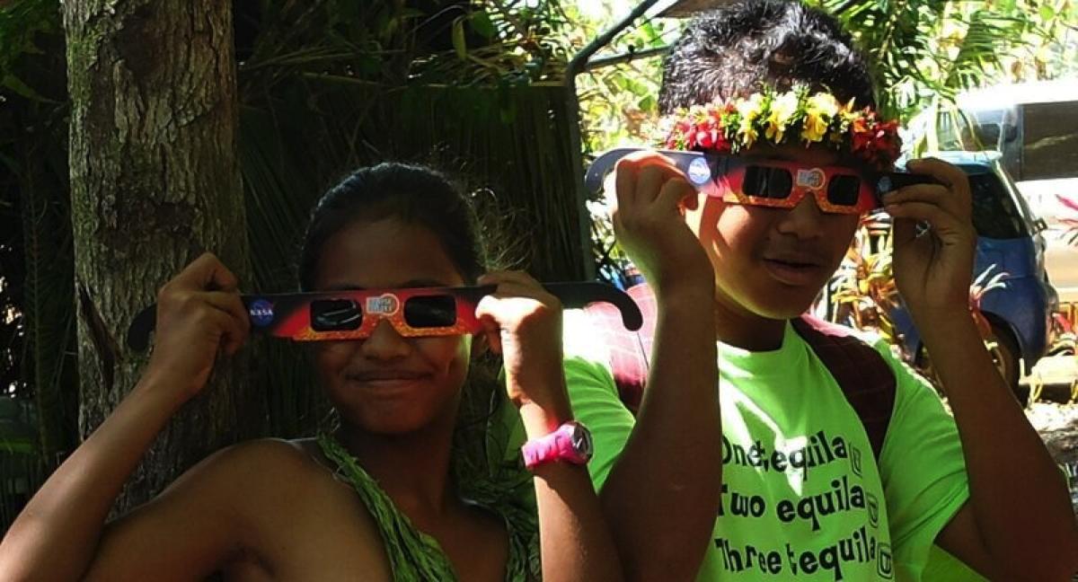 Exploratorium Solar Eclipse Micronesia Education