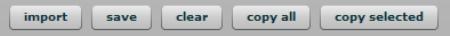 Botones del depurador