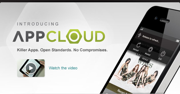 Introducing App Cloud - Watch the tour - Killer Apps. Open Standards. No Compromises.