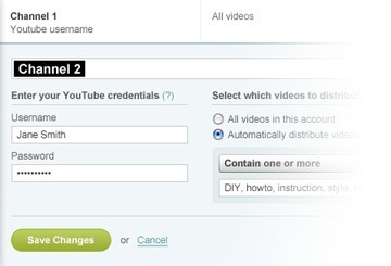 Blended distribution strategies with YouTube Sync