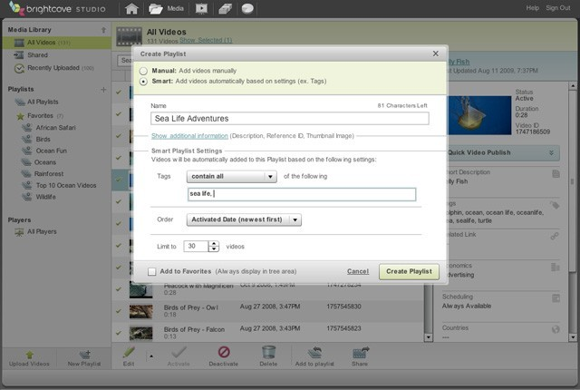 Content-Management – Screenshot 2