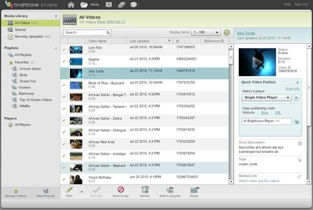 Content Management Screenshot 4