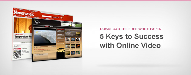 5 Keys to Success with Online Video