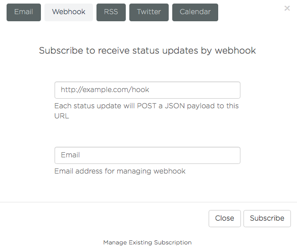 webhook subscribe