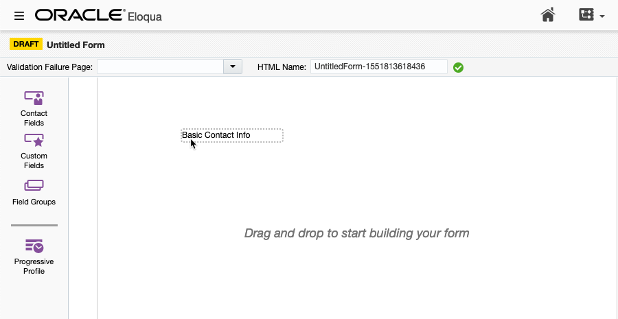 Creating Custom Lead Forms for Oracle Eloqua | Brightcove