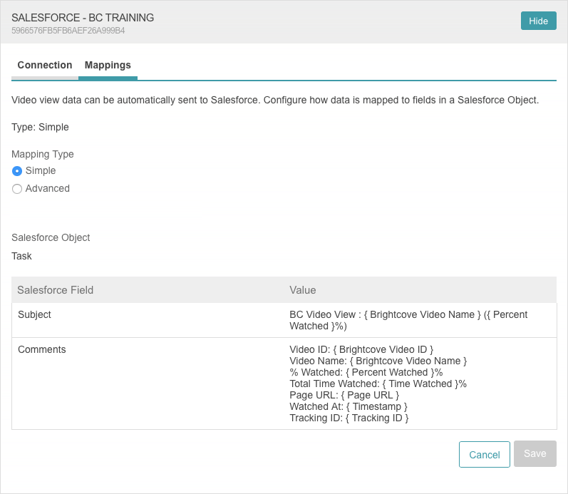 Integrating Video Cloud with Salesforce | Brightcove Learning