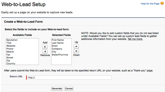 Creating Custom Lead Forms for Salesforce | Brightcove Learning