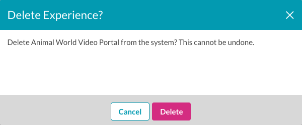 delete site