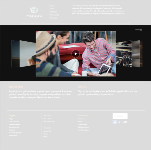 Overview of Gallery In-Page Experience Templates | Brightcove Learning