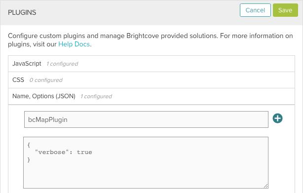 configure plugin
