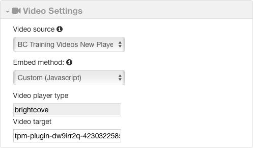 Adding a 3Play Media Interactive Transcript to a Video | Brightcove