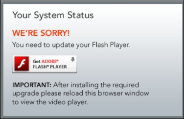 how do i update flash player